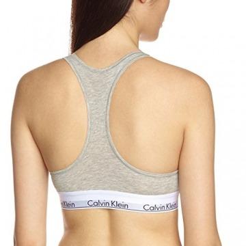 Calvin Klein Damen Bustier MODERN - BRALETTE, Einfarbig, Grau (GREY HEATHER 020), L - 2