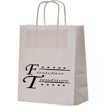 Firstclass Trendstore wunderschöne halterlose Strümpfe in versch. Styles und Farben Gr. S M L * Strapse Overknees Dessous Hochzeit elegant (Kama weiß S) - 3