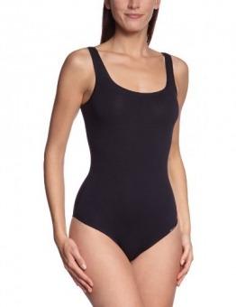 Skiny Damen Bodys Body Collection Body ohne Arm, Gr. 42, Schwarz (7662 BLACK) - 1