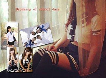 365-Shopping Sexy Cosplay Schulmädchen Dessous Outfit Mini Sailor Anzug mit Strümpfen - 5