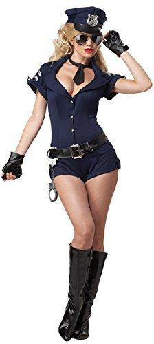 Aimerfeel- alles in einem sexy Polizistinnen-Outfit mit Mütze, Hut, Größe 36-40 - 1