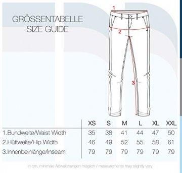 BlendShe Chilli Damen Chino Hose Stoffhose Regular-Fit, Größe:L, Farbe:Silver Mink Washed (20255) - 7