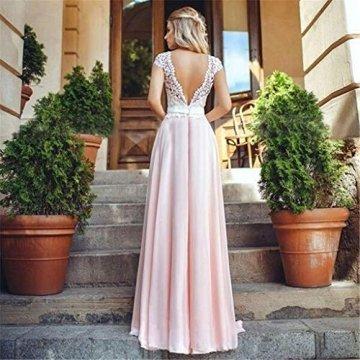 BMKWSG-LIANYIQUN Sommer Damen Kleid Spitze Nähen Rock ...