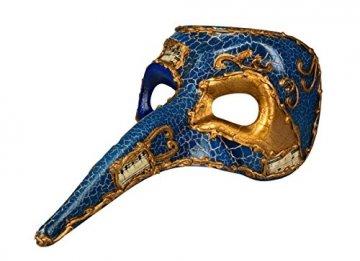 Boland, 00342,Venedig-Maske mit Nase - 1