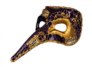 Boland, 00342,Venedig-Maske mit Nase - 2