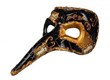 Boland, 00342,Venedig-Maske mit Nase - 3