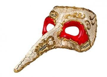 Boland, 00342,Venedig-Maske mit Nase - 4