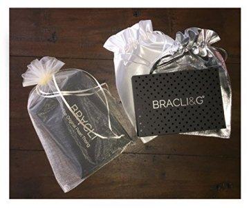 BRACLI Perlenstring YOUR NIGHT (zweireihig) One Size inkl. Geschenktasche Farbe Rot - 5