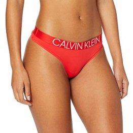 Calvin Klein Damen Thong Tanga, Rot (Fever Dream Dfu), No Aplica (Herstellergröße: S) - 1