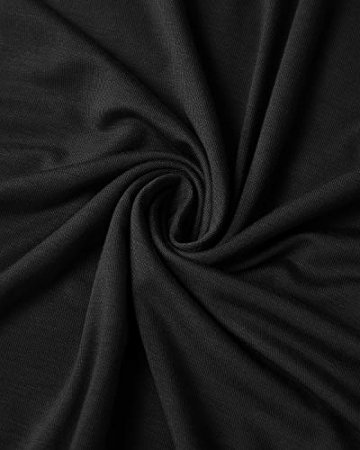 CNFIO Sexy Oberteil Damen Top Sommer Ärmellos Oberteile Crop Basic Schlinge T-Shirt Blusen E-Schwarz EU44 - 6