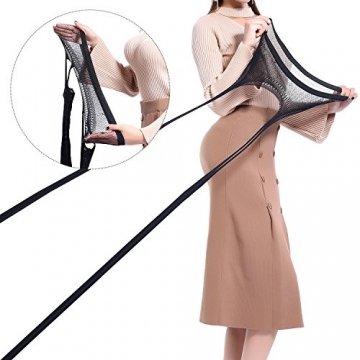 Comius 4 Stck Damen Reizvolle strapsstrümpfe mit strapsgürtel Oberschenkel Halterlose Strümpfe Strapsgürtel Strumpfhalter Slip Spitze Strapshalter - 7