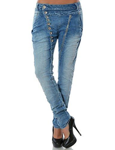 Boyfriend Jeans Damen Kombinieren