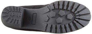 Damen Schuhe Stiefel Overknees Langschaft Boots Blockabsatz High Heels 127266 Schwarz Schwarz 37 Flandell - 3