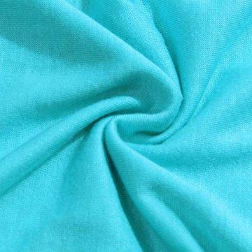 ELFIN Damen T-Shirt Kurzarmshirt Basic Tops Ärmelloses Tee Allover-Sternen Druck Shirt Sommer Shirt - 5