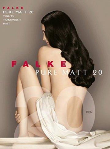 FALKE Damen Feinstrumpfhose Pure Matt 20 Denier Strumpfhose Transparent Einfarbig - 7