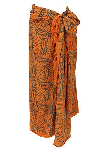 Guru-Shop Bali Batik Sarong, Wandbehang, Wickelrock, Sarongkleid, Strand Tuch, Herren/Damen, Design 40, Synthetisch, Size:One Size, 160x100 cm, Sarongs, Strandtücher Alternative Bekleidung - 1