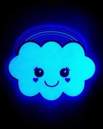iHeartRaves Kawaii Pasties Rainbow Cloud (Einheitsgröße) Rosa - 2