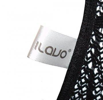 ILAVO® Traumhafter Bodystocking aus Netz im Leo-Look - Damen Dessous - Ouvert - S-L (S-L) - 3