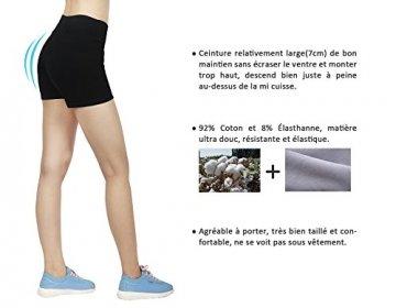 iLoveSIA 3X Shorts Sport Damen Schwarz Hotpants Sommer Unterwäsche tanzen Running Athletic Panties L - 4