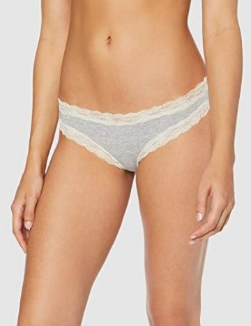 Iris & Lilly BELK015M7 Tanga, Multicolour (Black/Melange/Soft Pink), 38 (Herstellergröße: Medium), 7er-Pack - 2
