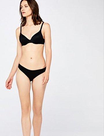 Iris & Lilly Damen Brazilian Slip Cotton 5er Pack, Schwarz (Black), Medium - 3