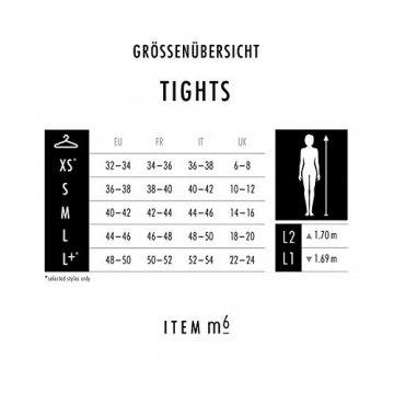 ITEM m6 - CONTOURING TIGHTS Damen | powder | M | L2 | Strumpfhose im 15 DEN Look - 7
