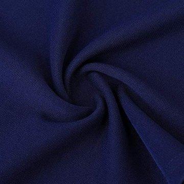 KOJOOIN Damen 1950er Vintage Brautjungfernkleider für Hochzeit Kurzes A-Linie Abendkleider, Dunkelblau (Off Schulter), Gr.- M/38-40 - 6