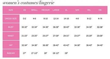 Leg Avenue 87039 - Nahtloses Mini Kleid Mit Slashlook Und Seitlichen Cut-Outs Akzente Dessous Damen Reizwäsche, Einheitsgröße (EUR 36-40) - 6