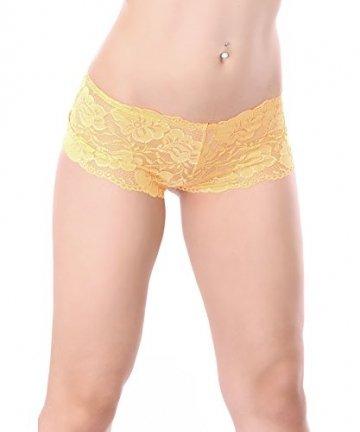 L&K-II 7er Pack Damen Panties Hipster mit verführerischen Spitzendetails MDU3409 Gr. 40 - 7