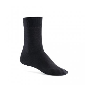 Mat and Vic's Cotton Classic Socken, 10 Paar,  größe 43/46,  Schwarz - 5