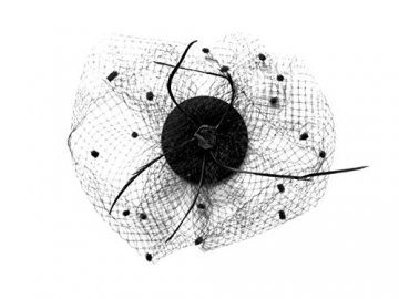 Mini-Hut / Fascinator Hut schwarz, Größe Atixo:OS - 1