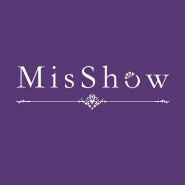 MisShow® Damen Neckholder Rückenfrei ärmellos Abendkleid Brautjungfernkleid Bodenlang Maxikleid Elfenbein 34 - 7