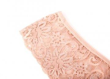 MOONIGHT 4er Pack Damen Baumwolle Dessous Unterwäsche Packung Wäsche Unterkleidung- Gr. EU 42-48 / XL, Farbe-1 - 2