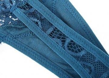 MOONIGHT 4er Pack Damen Baumwolle Dessous Unterwäsche Packung Wäsche Unterkleidung- Gr. EU 39-42 / L, Farbe-1 - 5