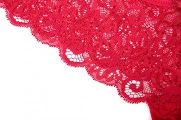 MOONIGHT 4er Pack Damen Baumwolle Dessous Unterwäsche Packung Wäsche Unterkleidung- Gr. EU 42-48 / XL, Farbe-1 - 5