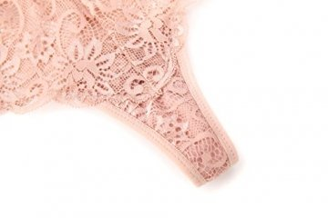 MOONIGHT 4er Pack Damen Baumwolle Dessous Unterwäsche Packung Wäsche Unterkleidung- Gr. EU 39-42 / L, Farbe-1 - 3