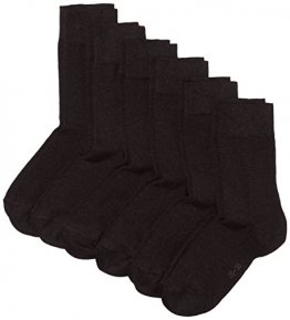 MyWay Damen Socken, 6er Pack, Gr. 39/42, Schwarz (black 610) - 1