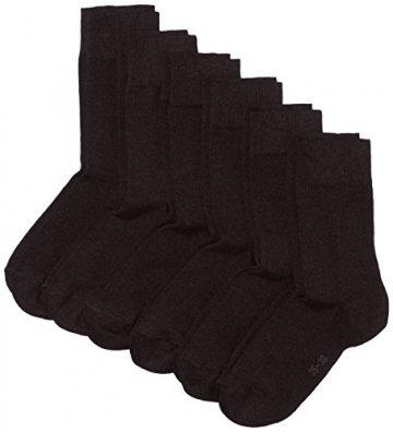 MyWay Damen Socken, 6er Pack, Gr. 39/42, Schwarz (black 610) -