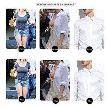 Nippel-Abdeckung Silikon Brustwarzenabdeckung Brust Aufkleber selbstklebend und wiederverwendbar Nippel Cover Pads - 3