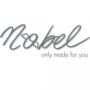 Ohrringe mit Kristalle von Swarovski® Silber Damen-Ohrhänger NOBEL SCHMUCK - 6