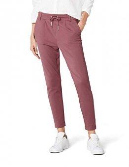 ONLY Damen Hose Onlpoptrash Easy Colour Pant Pnt Noos, Rot (Wild Ginger), 38 (Herstellergröße:M) (38 /L34) - 1