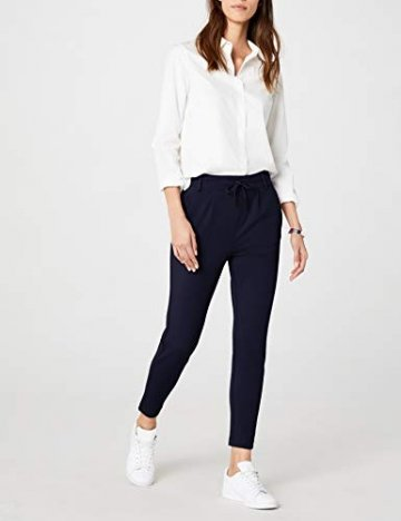 ONLY Damen onlPOPTRASH EASY COLOUR PANT PNT NOOS Hose, Blau (Night Sky), 36/L32 (Herstellergröße: S) - 2