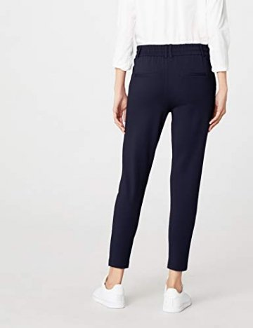 ONLY Damen onlPOPTRASH EASY COLOUR PANT PNT NOOS Hose, Blau (Night Sky), 36/L32 (Herstellergröße: S) - 4