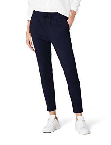 ONLY Damen onlPOPTRASH EASY COLOUR PANT PNT NOOS Hose, Blau (Night Sky), 36/L32 (Herstellergröße: S) - 1