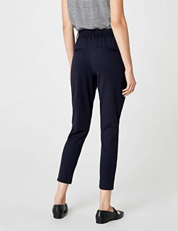 ONLY Damen onlPOPTRASH EASY COLOUR PANT PNT NOOS Hose, Blau (Night Sky), 36/L32 (Herstellergröße: S) - 5