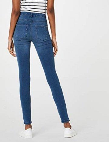 ONLY Damen Onlroyal High W.Skinny Jeans Pim504 Noos Jeanshose, Blau (Medium Blue Denim), 36/L34 (Herstellergröße: S) - 4