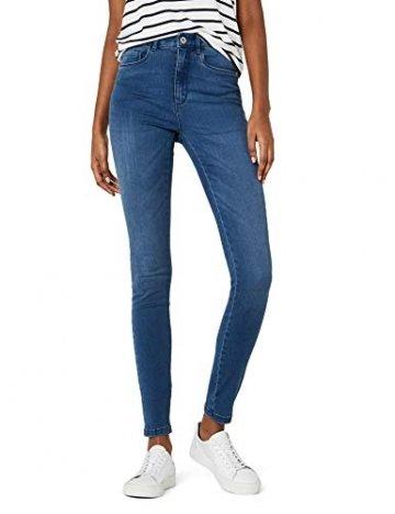ONLY Damen Onlroyal High W.Skinny Jeans Pim504 Noos Jeanshose, Blau (Medium Blue Denim), 36/L34 (Herstellergröße: S) - 1