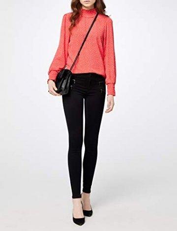 ONLY Damen Onlroyal Reg Skinny Zip Jeans DNM Noos Jeanshose, Schwarz (Black), 42/L30 (Herstellergröße: XL) - 2
