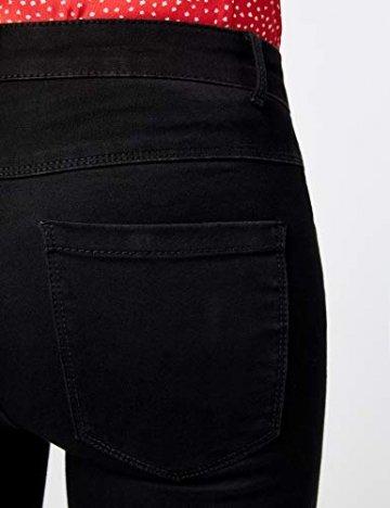 ONLY Damen Onlroyal Reg Skinny Zip Jeans DNM Noos Jeanshose, Schwarz (Black), 42/L30 (Herstellergröße: XL) - 5