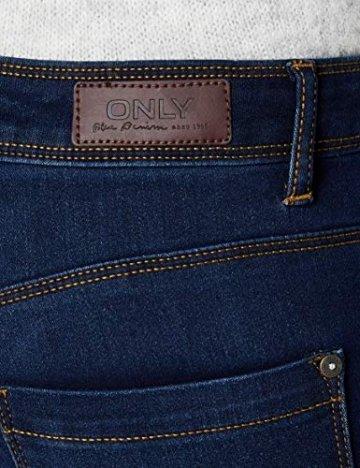 ONLY Damen Skinny Jeans 15077791/SKINNY SOFT ULTIMATE 201, Blau (Dark Blue Denim), Gr. L/L30 (L) - 3